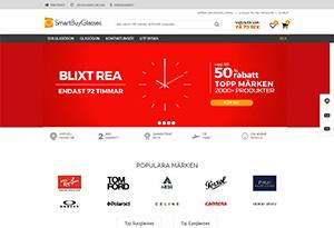 SmartBuyGlasses Rabatt / Återbäring