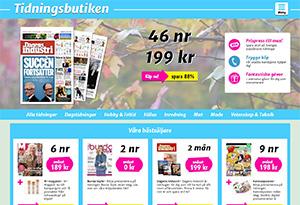 Tidningsbutiken Rabatt / Återbäring